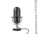 Retro microphone 17432799