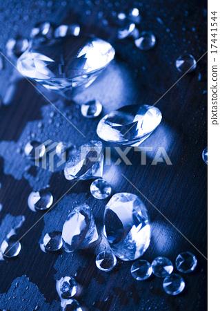Gemstone, bright colorful tone concept 17441544