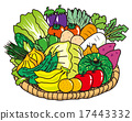 Vegetables 17443332