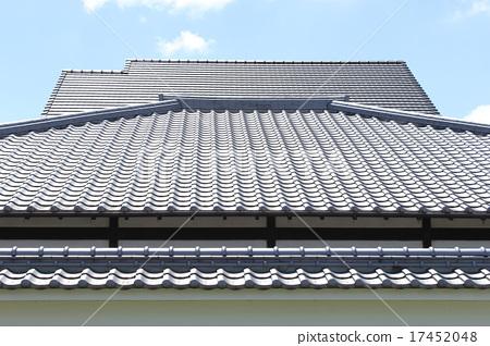 屋頂瓦片 17452048