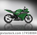 Brandless Motorcycle Motorbike Vehicle Concept 17458084