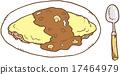 食物 食品 大米煎蛋 17464979