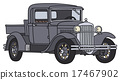 vintage, truck, small 17467902