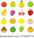 水果 矢量 季節 17468724