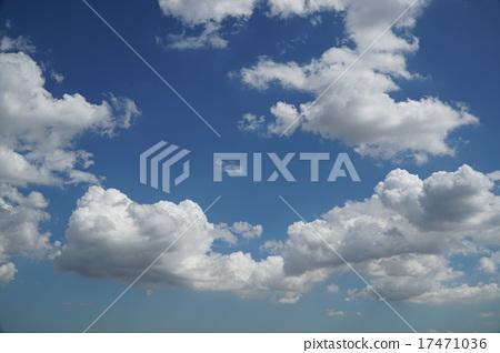 푸른 하늘과 구름 17471036