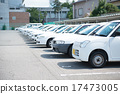 แถวของรถสีขาว 17473005