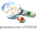 素面 和食 日本菜肴 17478236