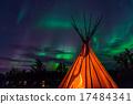 北極光 照亮 加拿大 17484341