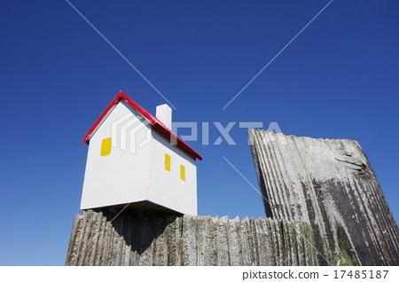 House of blue sky image 17485187