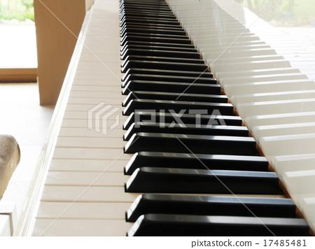 White grand piano 17485481