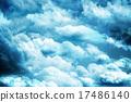 하늘, 구름, 흐림 17486140