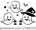 矢量 幽灵 鬼 17486229