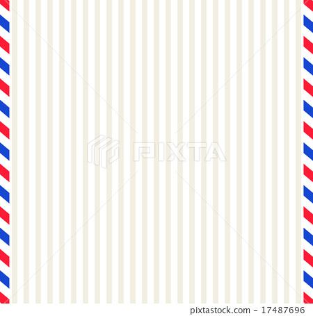 航空郵件背景 17487696