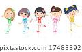 Five colors Pop idol 17488892