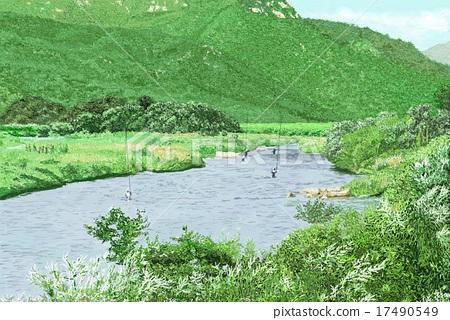 在Sambagawa的初秋 17490549