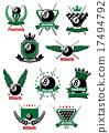 ball, sport, emblem 17494792
