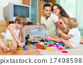 home, family, blocks 17498598