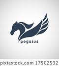 pegasus logo vector 17502532