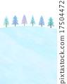 coniferous, tree, winter 17504472