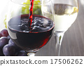 wine glass, potable, red wine 17506262