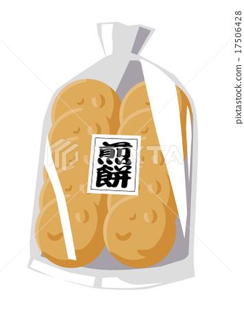 rice cracker 17506428