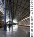 rail, platform, train 17513964