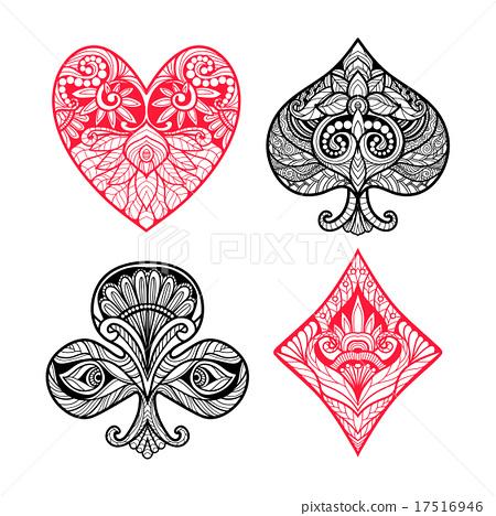 Card Suits Set 17516946