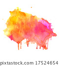 Hand drawn Watercolor background 17524654