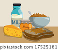 cheese, bread, food 17525161