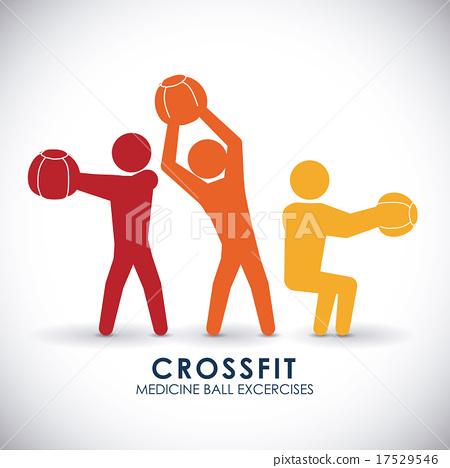 Fitness design. 17529546
