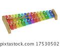Wooden colorful xylophone 17530502