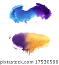 Hand drawn Watercolor background 17530599