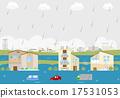 洪水 17531053