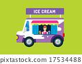 vector van truck 17534488