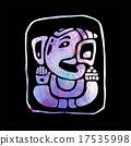 Ganapati. Hindu God Ganesha. 17535998