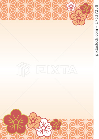 japanese pattern, flower, flowers 17537238