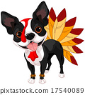 Thanksgiving Boston Terrier 17540089