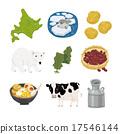 北海道 插图 马铃薯 17546144