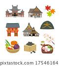 เกียวโต,ปราสาทนิโจ,พื้นหลังสีขาว 17546164