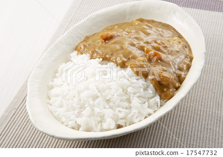 Curry and rice 17547732