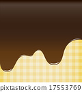 abstract background sweet brown chocolate, cake  17553769