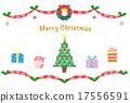 插圖 卡片 耶誕節 17556591