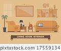 캐비닛, 테이블, 벡터 17559134