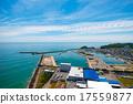 直升机拍摄 港口 海港 17559877