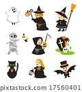 Halloween characters 17560401