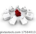 별장, 주택, 3d 17564013