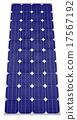 Blue Solar panel 17567192