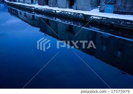 冬季小樽運河 17573979