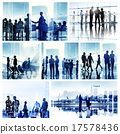 Business People Corporate Office Work Cityscape Concept 17578436