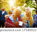 Friends Outdoors Camping Holiday Cheerful Concept 17580022